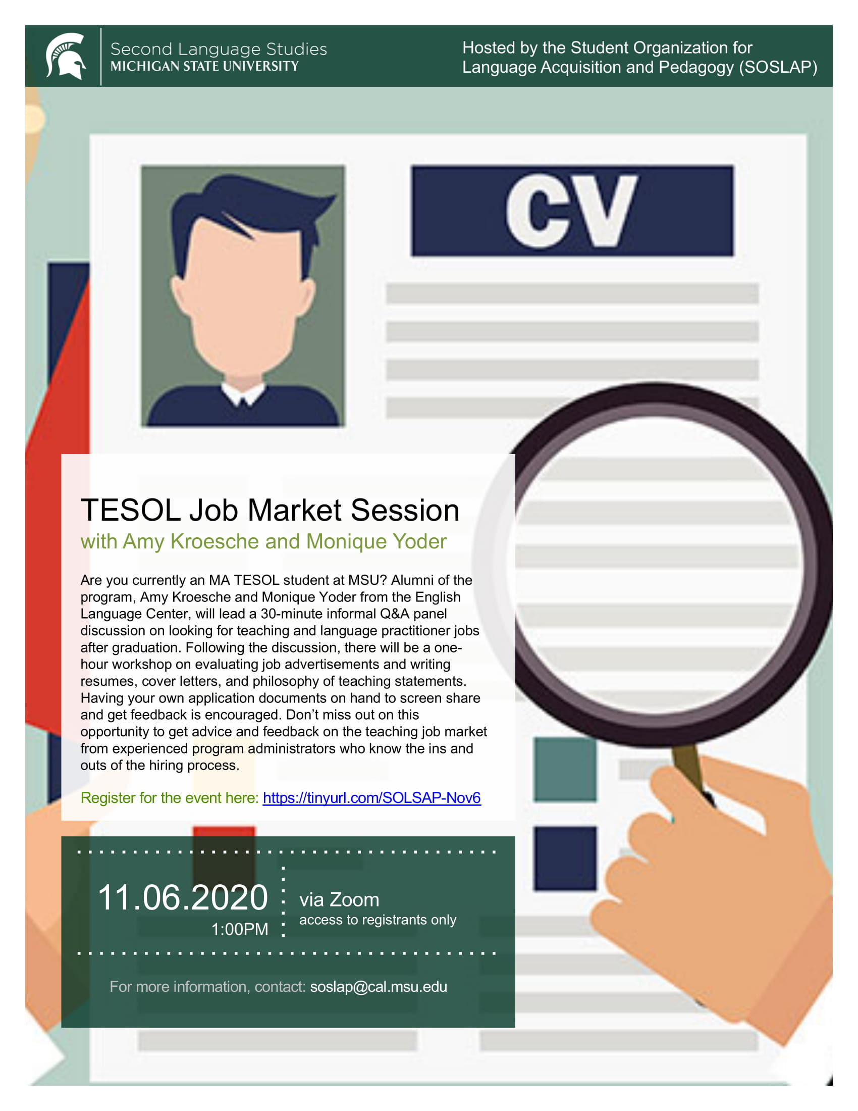 TESOL Job Market Session