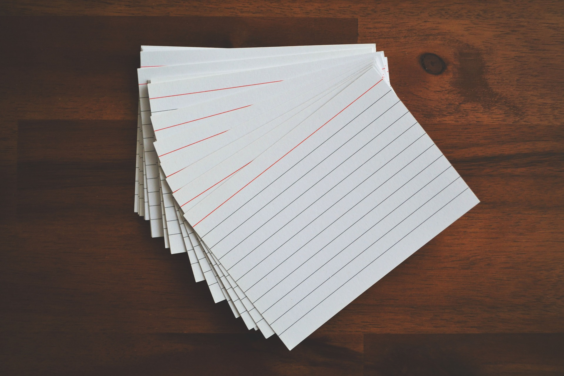 Rethinking Index Card Games for the Online Classroom