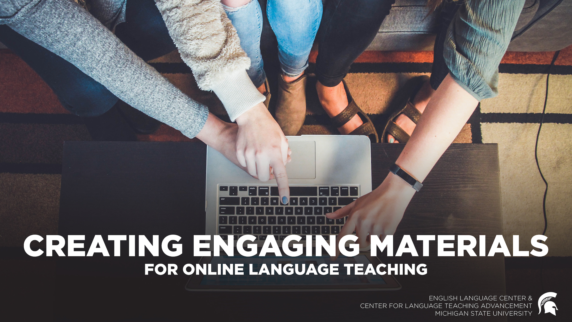 Creating Engaging Materials for Online Language Teaching
