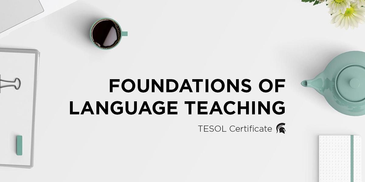 Foundations of Language Teaching