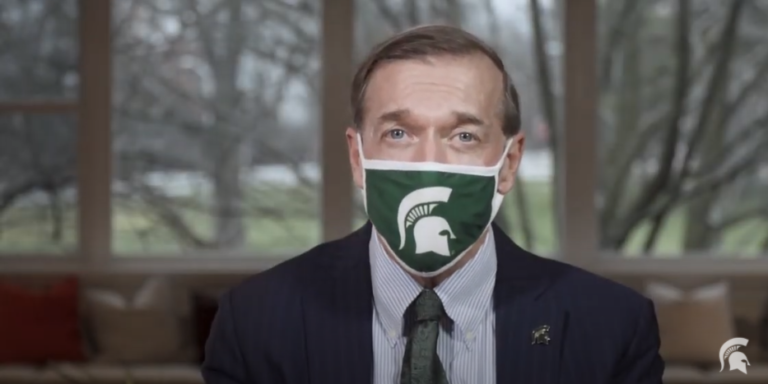 Message of thanks to MSU students from President Stanley