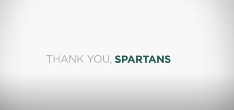 Spartan Gratitude | Michigan State University