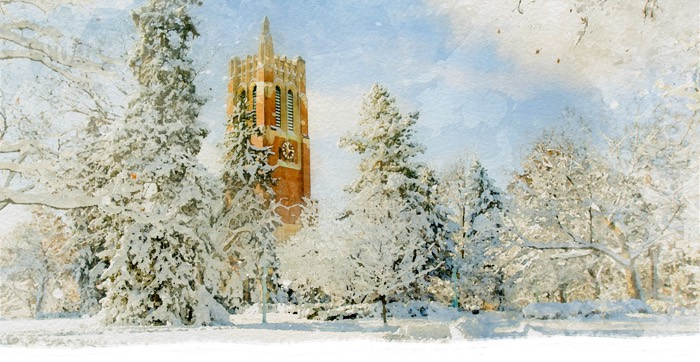 Happy holidays from Michigan State University