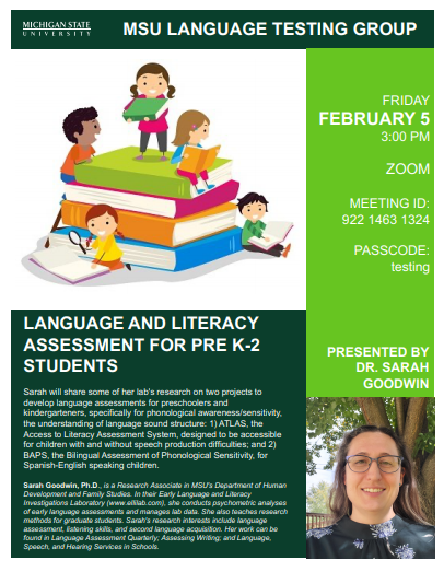 Language Testing Group – New Event