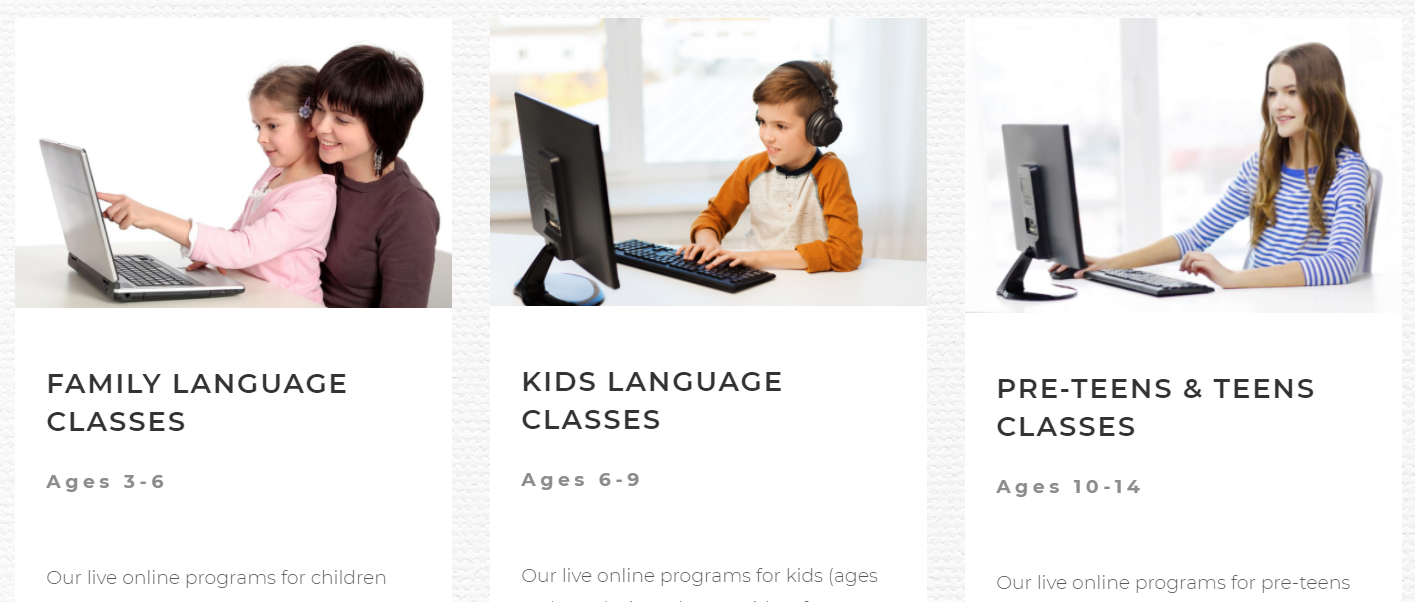 ESL for Kids/Teens Offered Virtually for Summer 2021