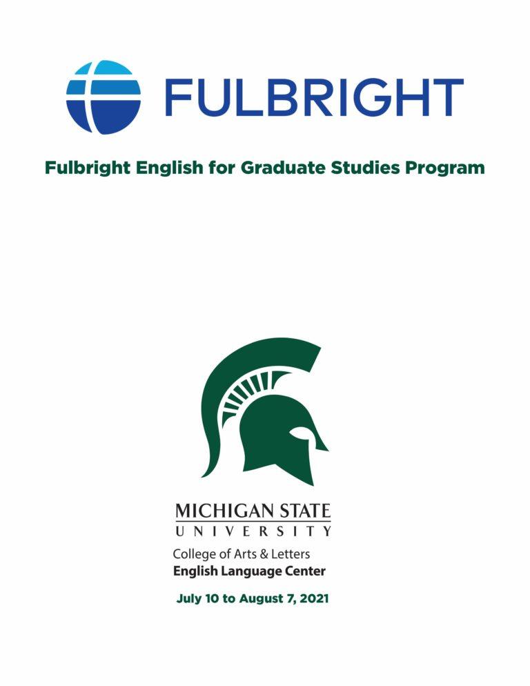 2021 Virtual Fulbright EGSP at MSU