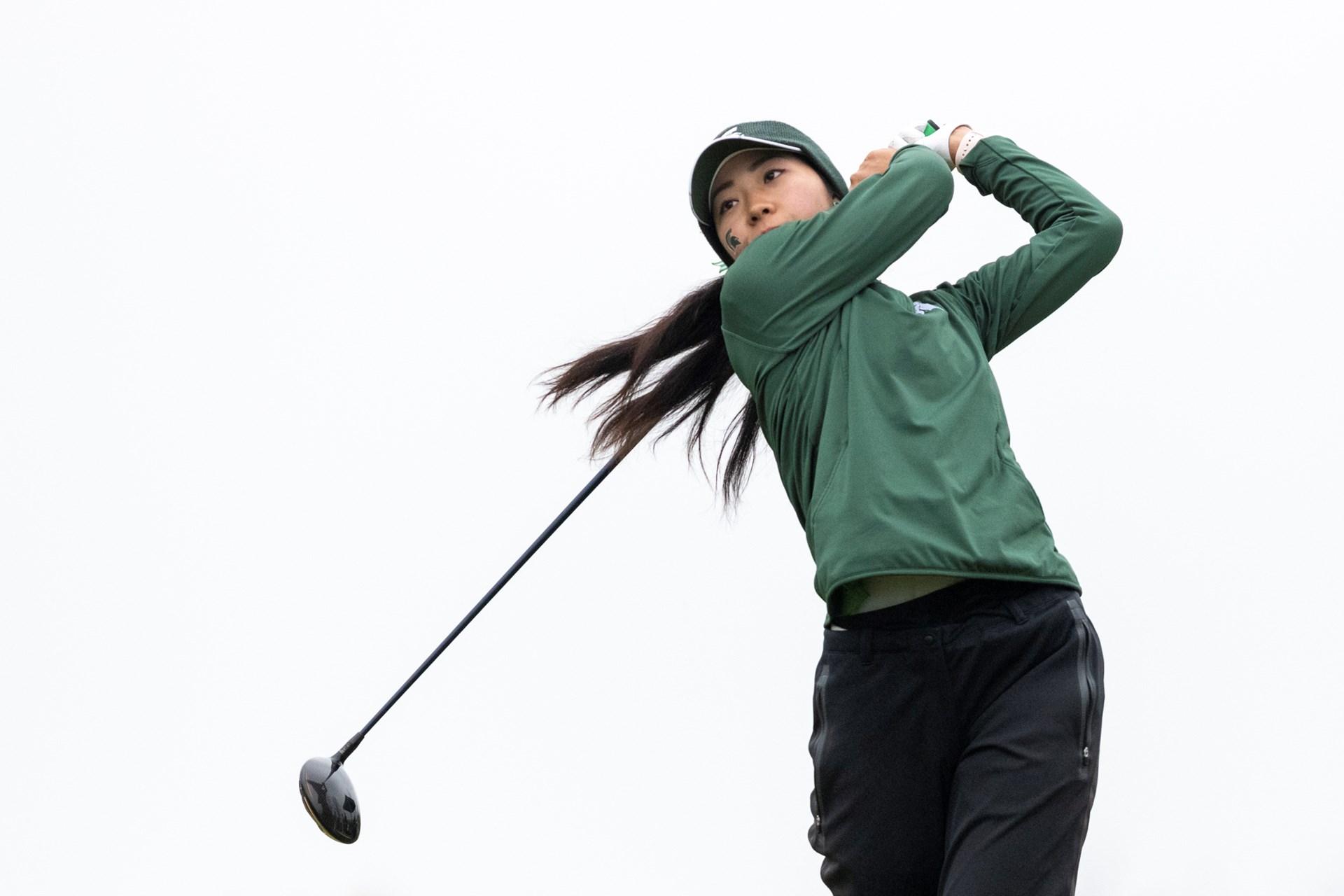 ELC Alum Yurika Tanida helps MSU advance to NCAA Golf Championship
