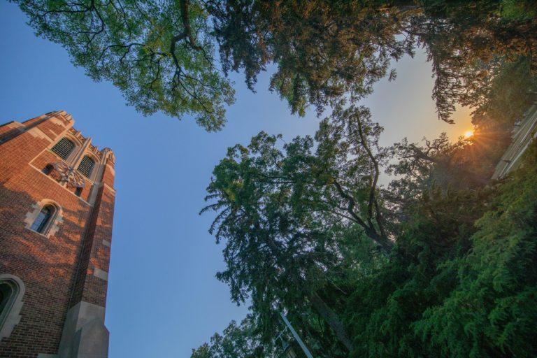 Eclipse Sunrise at MSU