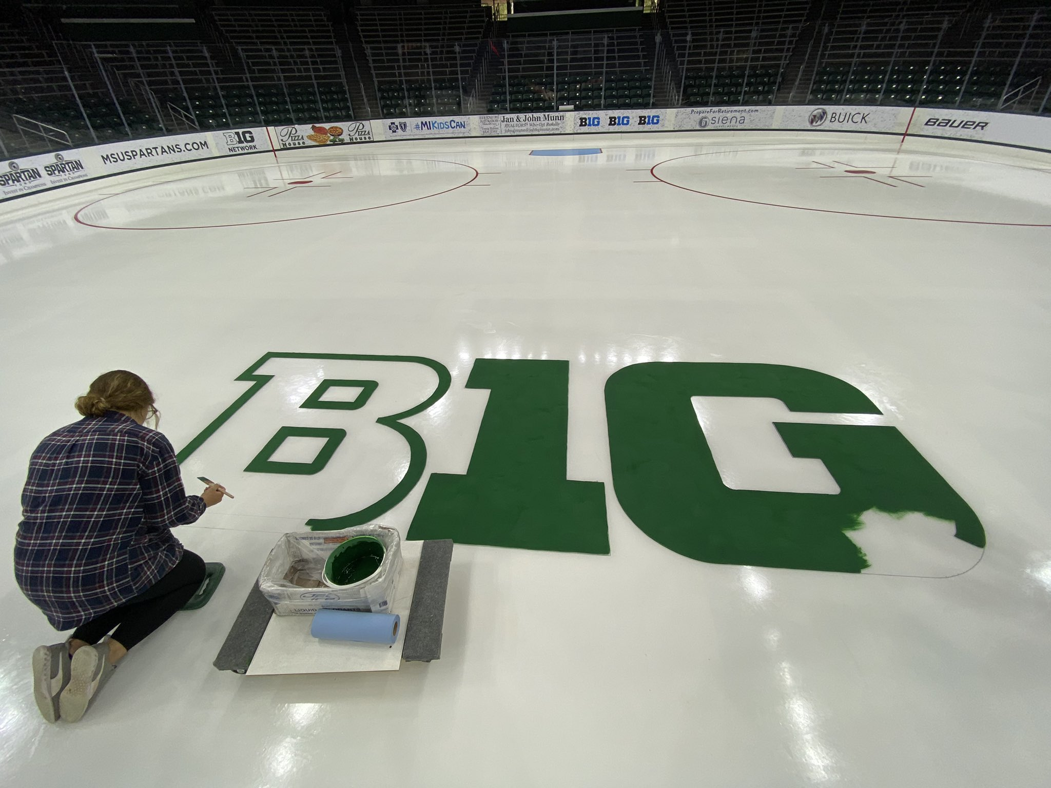 Cool as ice. Some behind-the-scenes magic at Munn Ice Arena