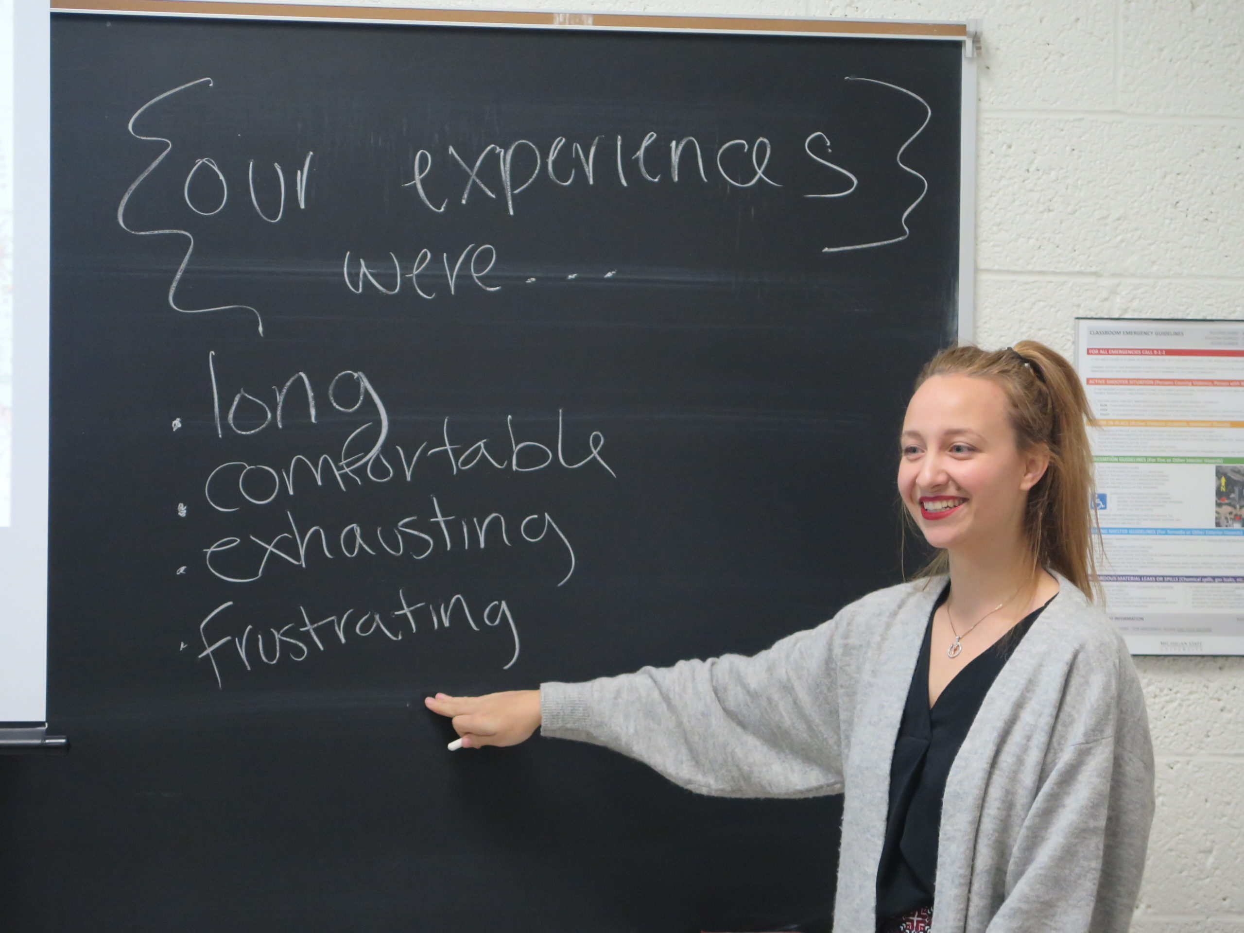 Recognizing Megan Walsh: Graduate Student and Educator in the ELC