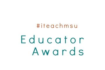 #iteachmsu Educator Award Recipients