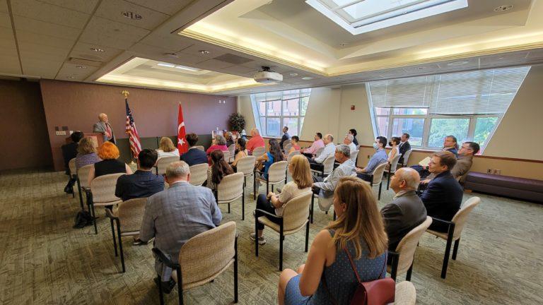 Ambassador Murat Mercan at MSU