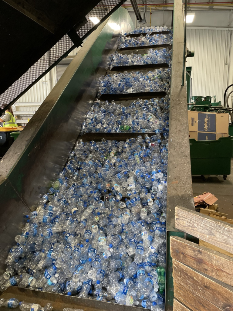 Water Bottle Recycling